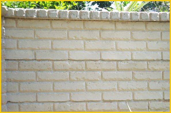 Brickcrete plain precast concrete wall 6-789