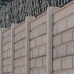Block Brick precast concrete wall