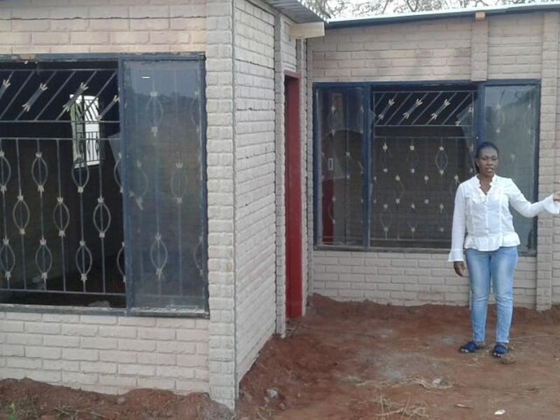 Double sided brickcrete panel housing(2)