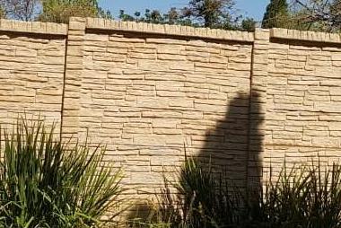 Stonefence precast concrete walls