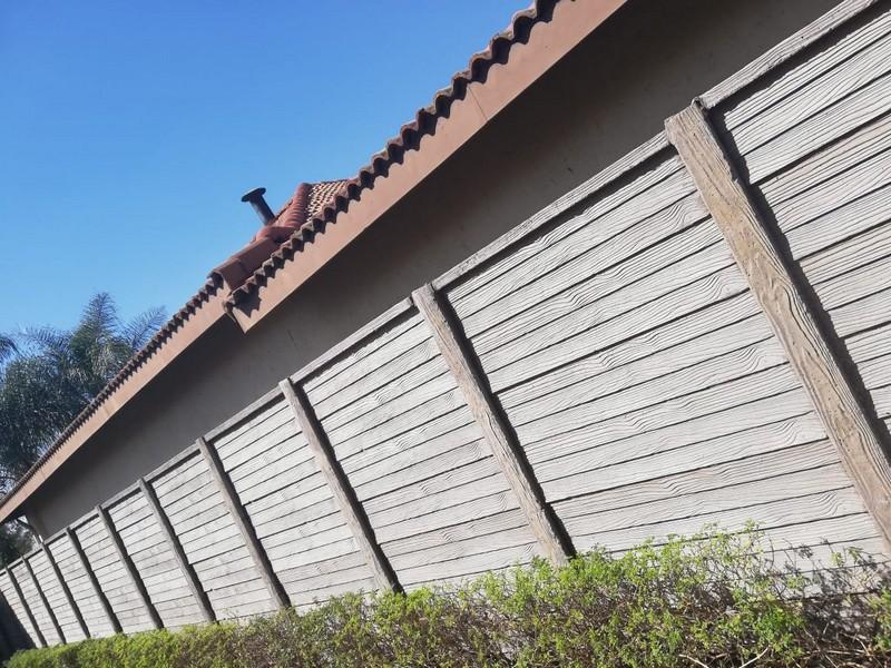 Woodcrete precast concrete wall 2-1073